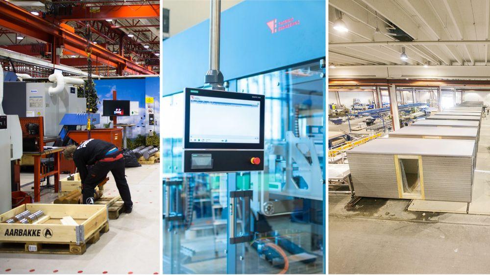 Aarbakke, Tronrud Engineering og Moelven er finalistene til Norges Smarteste Industribedrift 2019.