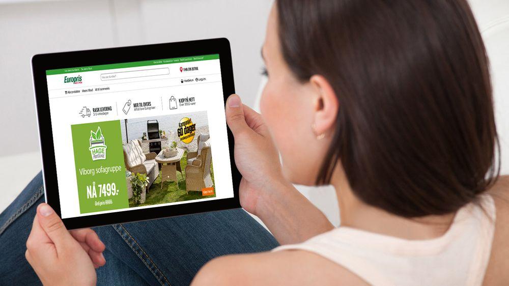 025b5813 Europris lanserte netthandel i fjor, og fortsetter arbeidet med sin  omnikanal-strategi.