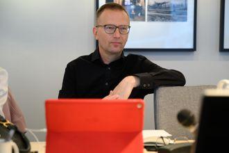 Øyvind Kvalnes i PFU.