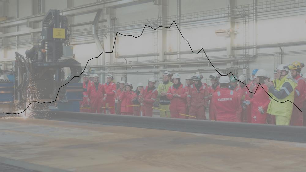 Det går bedre i norsk oljeindustri om dagen, noe som også viser igjen i ledighetstallene for ingeniører. Det er mye takket være store utbyggingsprosjekt som Johan Sverdrup og Johan Castberg. Her fra verftet til Kværner som nyter godt av de to prosjektene.