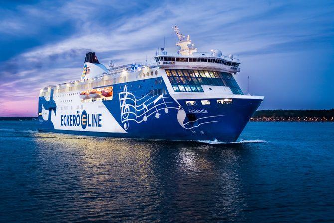 Eckerö Lines ferge Finlandia får installert ABB Marine Pilot Vision som hjelpemiddel for kapteiner ved manøvrering til og fra kai.