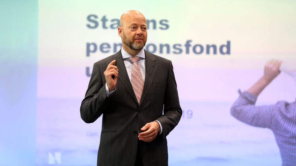 Leder for Oljefondet Yngve Slyngstad kunne legge fram svært gode avkastningstall for 1. kvartal i 2019, takket være teknologiaksjer.
