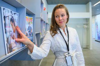 Martine Lunder Brenne, redaktør i Egmonts «Foreldre&Barn»