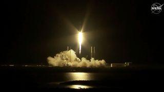 Lyktes med SpaceX-oppskyting