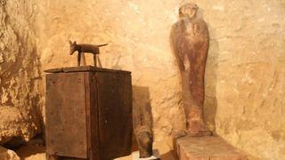 Arkeologer fant 4500 år gammelt gravkammer