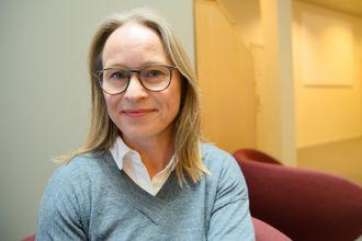 Sjefredaktør i Nationen, Irene Halvorsen.