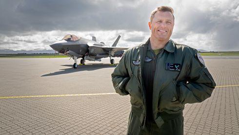Skvadronsjef Ståle «Steel»: – Vi har gjort kvantesprang med våre F-35-fly i det siste