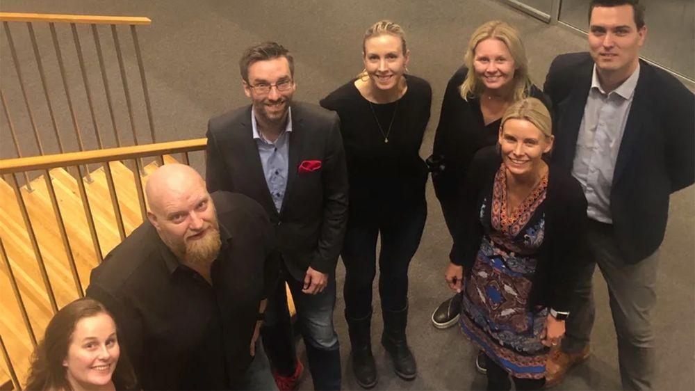 75ee3d7a Årets jury fra venstre: Ingvild Moen, Ole Petter Nyhaug, Alexander Haneng,  Marte