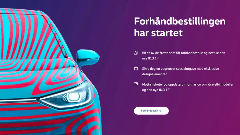 2b8b9ea7 VWs nettsider knelte av ID-interesse - Bilbransje24.no