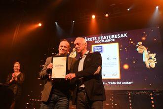 Excellence for Årets spesialmagasin går til Budstikka for «Ordet fanger»