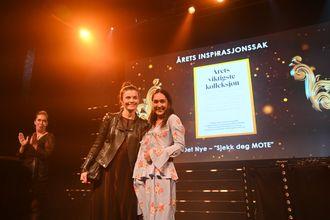 Det Nye vant årets inspirasjonssak.