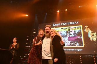 Dagbladet vant Årets featuresak.