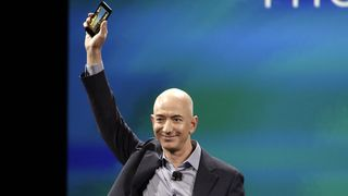 Amazon-sjef Jeff Bezos lanserer månelandingsfartøy