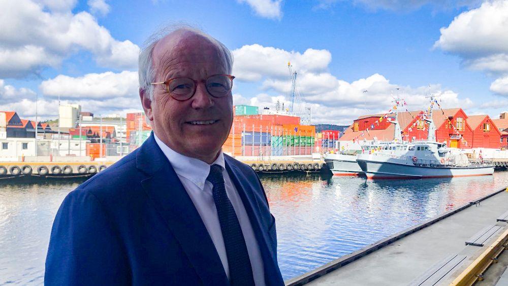 Tom Nysted er avtroppende konsernsjef i Agder Energi.