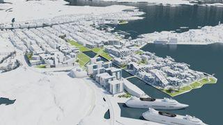 Cowi vil fjerne «hellig grunn» i Kristiansand og lage en flytende smartby