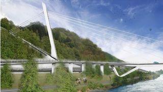 Snart klart for ny bru i Trondheim til 1,2 milliarder kroner