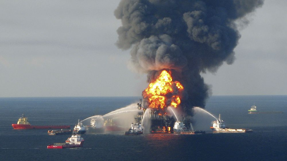 Deepwater Horizon-ulykken i Mexicogulfen i 2010 har blitt betegnet som det største oljeutslippet til havs noensinne.
