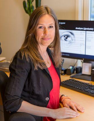 Berit Lima, seksjonsleder for kriminalteknisk avdeling i Kripos.