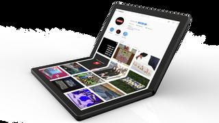 Glem brettbare mobiler – Lenovo skal lansere en  laptop  med bøyelig skjerm