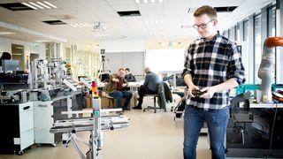 Best i Europa: Her skal studentene gjøre seg klare til«industri 4.0»