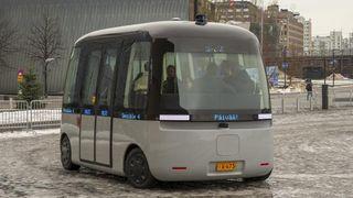 Finsk start-up kjører førerløse busser i nærmest all slags vær