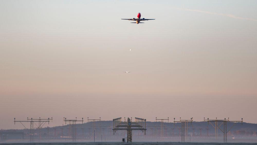 Danmark, Kypros, Irland og Malta er de eneste landene i EU med null flyavgifter.