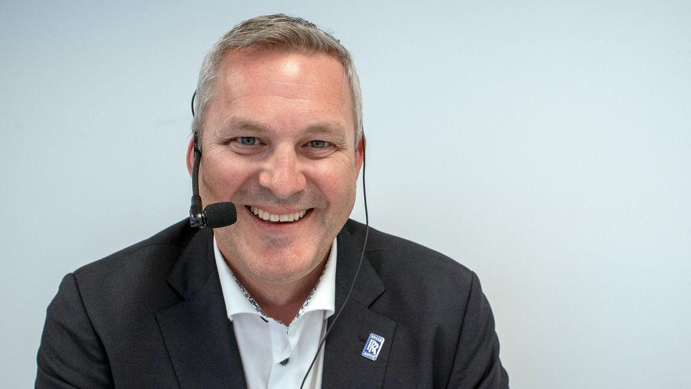 Gjest: Sigurd Øvrebø i Rolls Royce.