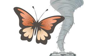 Forskere vil trene kunstig intelligens i å beregne sommerfugleffekten