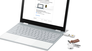 Google Titan Security Key i USB- og Bluetooth-utgave.