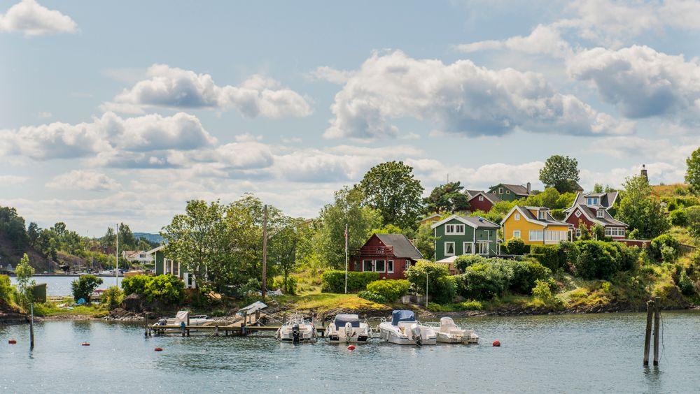 Lindøya er en av fire øyer i Indre Oslofjord som Statsbygg ønsker å selge.