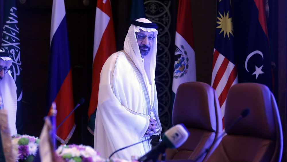 Saudi-Arabias energiminister Khalid al-Falih mener det ikke er noen grunn til å frykte oljemangel.