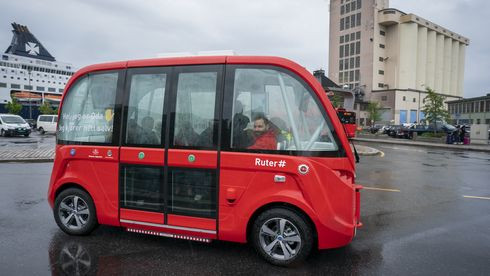 Her åpner Oslos første rute med førerløs buss