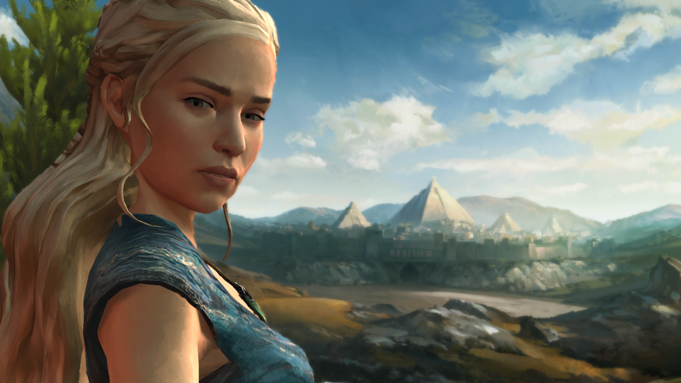 Illustrasjonsbilde fra Telltale Games' Game of Thrones-spill.