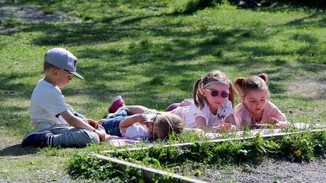 Festival i Asphaugen barnehage.