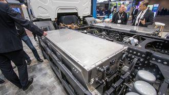 Batteriet er levert av tyske Akasol, og består av fire batterimoduler på 50 kilowattimer hver.