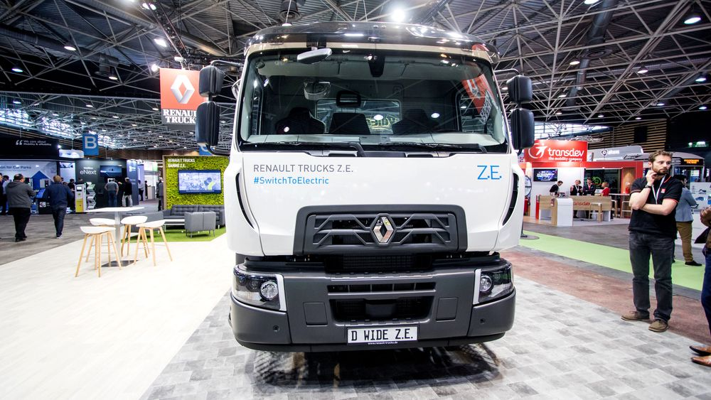 Renault Trucks D Wide Z.E. blir å se på veiene neste år.