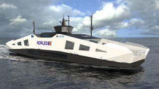 Fikk tilbud fra en rekke verft: Norled valgte å bygge verdens første hydrogenferge i Norge