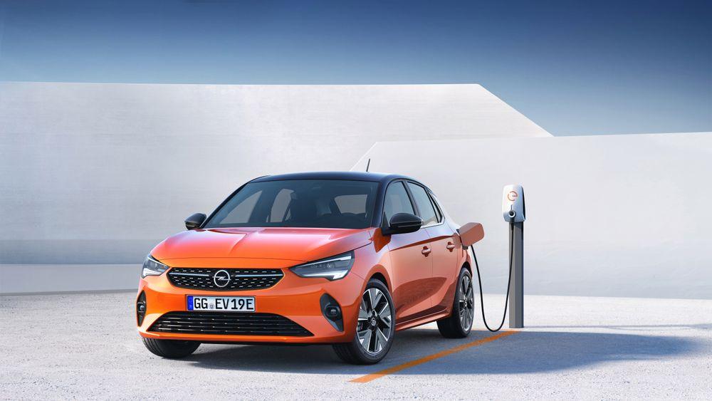 Opel Corsa-e i 2019-modell.
