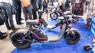 La oss kalle det en elektrisk chopper-moped.