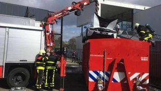 Nytt slokkemiddel kapsler inn brannen i litium-ion-batteriet