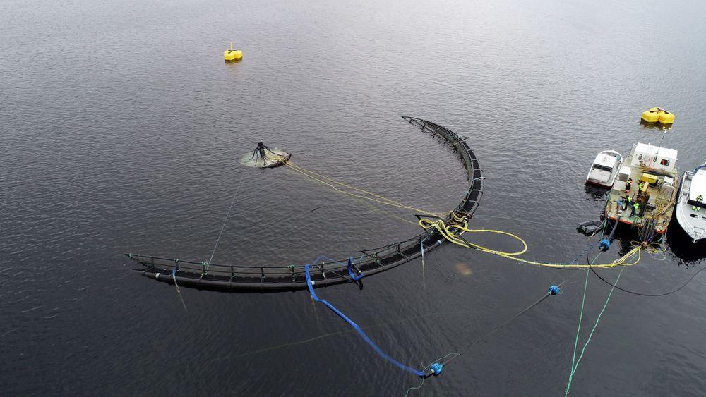 Den nedsenkbare merden skal være på 25 meters dyp.