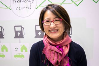 Tomoko Blech, representant for CHAdeMO Association Europe.