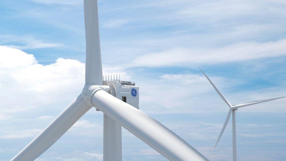 Haliade-X blir verdens største vindturbin