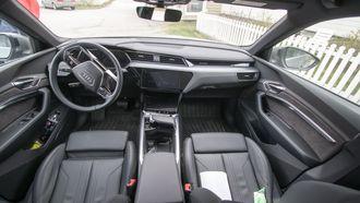Audi E-Tron interiør.