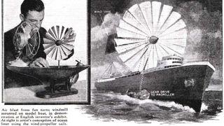 Her er sju spektakulære skipskonsepter som bruker vindenergi