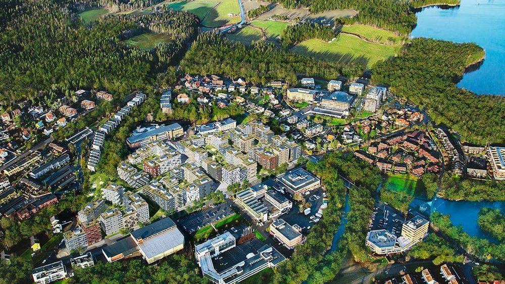 Frysjaparken bygges på tidligere industritomter langs Frysjaveien. Hjemmet-Mortensen har blant annet hatt trykkeri her.