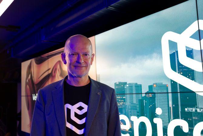 Peter Petzel, daglig leder ved Oslo Epicenter.
