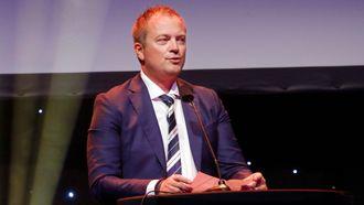 PBLs landsmøte. Styreleder Eirik Husby.