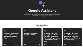 Ved hjelp av IFTTT kan du konfigurere Google-assistenten til å styre ting den ikke kan kontrollere direkte – som for eksempel en robotstøvsuger.