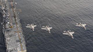 Byttet ut kampflyenes radarsystemer med nye - fanget opp flere UFO-er